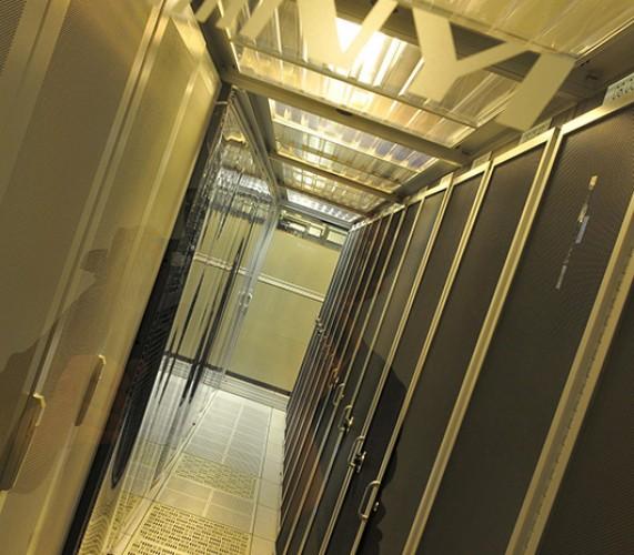 new york intenet company server room entry