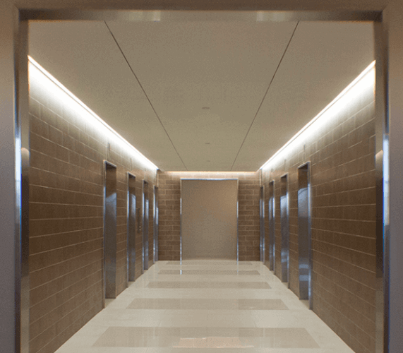 60 Hudson Hallway
