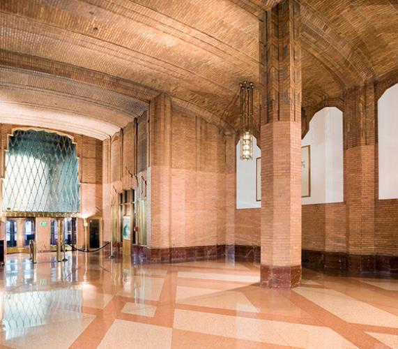 60 Hudson Lobby