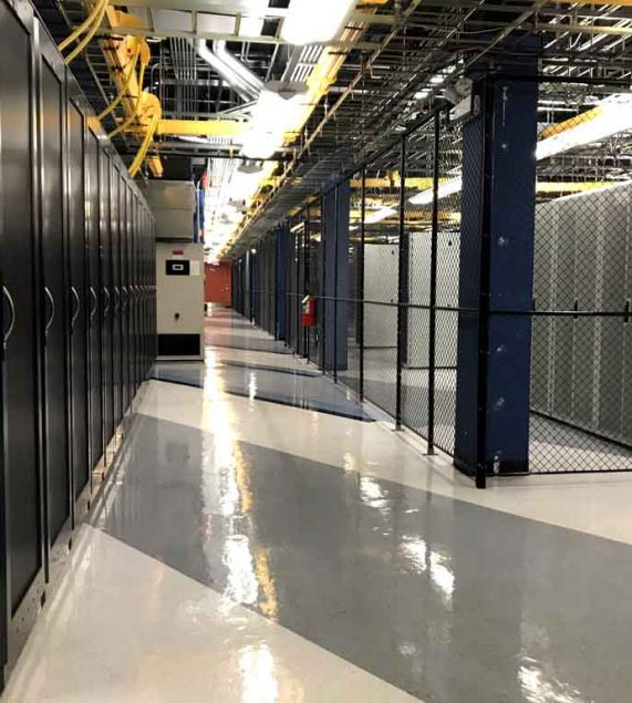 Chicago data center cages