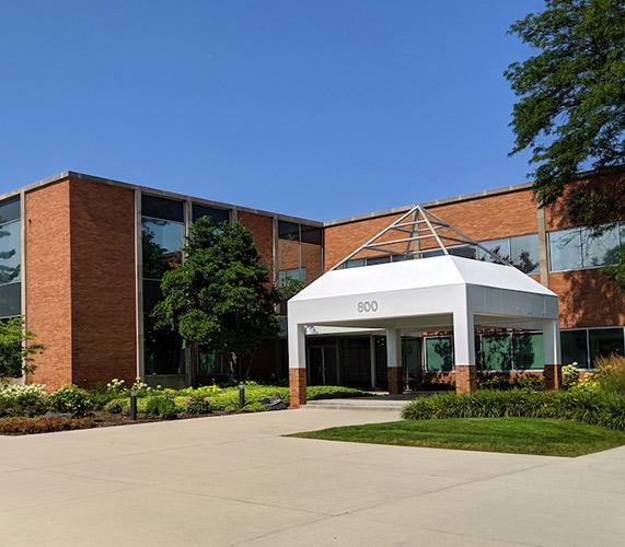 Exterior of data center